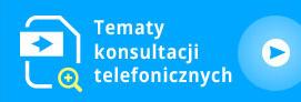 Tematy konsultacji telefonicznych